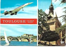 AVION CONCORDE - TOULOUSE La Ville Rose - 1946-....: Moderne