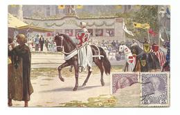 KAISER JUBIL HULDIGUNGSFESTZUG WIEN 1908 KÖNIG RUDOLF VON HABSBURG WIEN  BARCELONA 1908 - SOLDAT MILITAR SOLDIER SOLDADO - Personnages