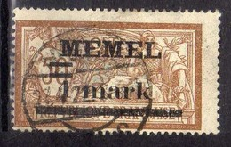 Memel 1920 Mi 26, Gestempelt [280117L] - Memelgebiet