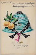 CPA Ancienne ROBERTY Art Nouveau Femme Woman Girl Mode Chapeau Non Circulé Le Sourire érotisme - Robert