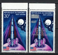 Dahomey 1970, Lune / Moon / Mond / Maan / Surch: Apollo XIII (13) **, MNH - Bénin – Dahomey (1960-...)