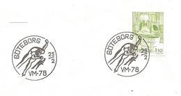 1978 Championnat Du Monde De Patinage De Vitesse (Göteborg.Suède )