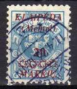 Memel / Klaipeda 1923 Mi 136, Gestempelt [280117L] - Memelgebiet