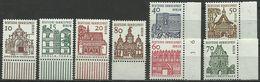 Berlin Bauwerke II 242-249 Kpl. Satz Vom Bogenrand Xx - [5] Berlin