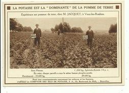Vaux Les Rosieres La Potasse ( Carte Publicitaire ) - Vaux-sur-Sûre