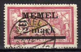 Memel 1920 Mi 28, Gestempelt [280117L] - Memelgebiet