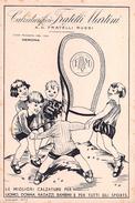 "05447 ""CALZATURIFICIO F.LLI MARTINI DI A.G. F.LLI ROSSI - VERONA"" ANIMATA.CARTA ASSORBENTE - Chaussures"