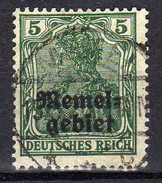 Memel 1920 Mi 1, Gestempelt [280117L] - Memelgebiet