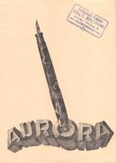 "05450 ""STILOGRAFICA AURORA - FABBRICA TIMBRI C. BELTRAMI - ALESSANDRIA"" CARTA ASSORBENTE - Buvards, Protège-cahiers Illustrés"