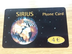 Sirius  - 4 €  Earth  - Little Printed  -   Used Condition - Deutschland