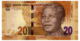 SOUTH AFRICA 20 RAND ND(2012) Pick 134 Unc - South Africa