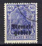 Memel 1920 Mi 17, Gestempelt [280117L] - Memelgebiet