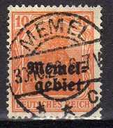 Memel 1920 Mi 14, Gestempelt [280117L] - Memelgebiet