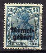 Memel 1920 Mi 15, Gestempelt [280117L] - Memelgebiet