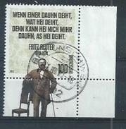 """ALLEMAGNE : Y&T (o)  N° 2657 """" Fritz Reuter """" - [7] République Fédérale"""