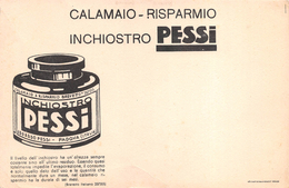 "05454 ""INCHIOSTRO - EDOARDO PESSI - PADOVA - CALAMAIO-RISPARMIO - BREVETTO 257355""  CARTA ASSORBENTE - Buvards, Protège-cahiers Illustrés"