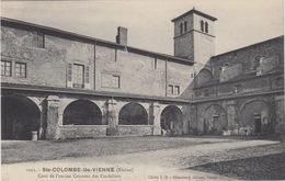 69 - SAINTE COLOMBE LES VIENNE / COUR DE L'ANCIEN COUVENT DES CORDELIERS - France