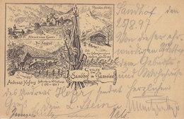 PASSEIER - GRUSS VOM SANDHOF IN PASSEIER Sehr Schöne, 1897 Gelaufene Ansichtskarte - Other Cities