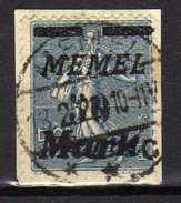 Memel 1923 Mi 123, Gestempelt [280117L] - Memelgebiet