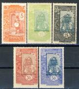 Costa Dei Somali 1922-24 Serie N. 103-107 MLH Cat. € 7 - Unused Stamps