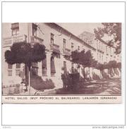 GNDTP6578CPA-LFTD9460THO.Tarjeta Postal DE GRANADA.Edificios.campo.HOTEL SALUD,CERCA DEL BALNEARIO DE LANJARON - Hoteles & Restaurantes