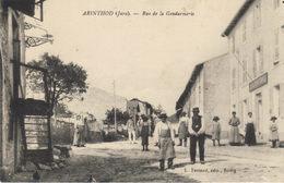 39 - ARINTHOD - Rue De La Gendarmerie En 1915 - Otros Municipios