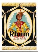 Etiquette Rhum Grand Arôme - Gensay & Cie - Format 12 X 16 Cm - - Rum