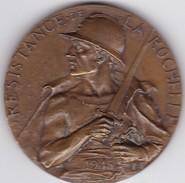 RARE Médaille Commémorant Le IV ème Siège De La Rochelle En 1945.  Résistance LA ROCHELLE. - France