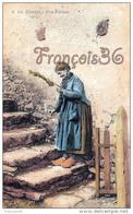 (19) Type Du Pays Paysanne  Fermiere Fileuse éditée à Brive - 2 SCANS - Fermes