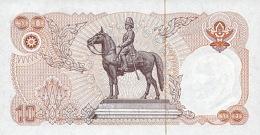THAILAND  P. 87 10 B 1980 UNC (s. 53) - Tailandia
