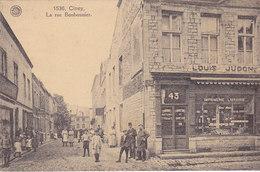 Ciney - La Rue Bonbonnier (top Animation, Imprimerie Librairie, Couronnes Mortuaires, Fourniture De Bureau) - Ciney