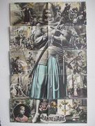 Carte Postale Ancienne - PUZZLE - JEANNE D'ARC - 10 Cartes - - Historical Famous People