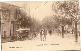 13/ Miramas - Avenue D'istres Ecrite En 1918 - - Otros Municipios