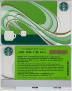 Starbucks - UK - 2012 - CN 6082 SB91 Coffee Aroma - Gift Cards