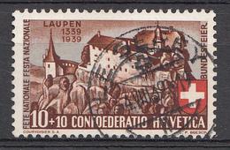 SUISSE 1939 Mi.nr: 356  600.Jahrestag Der Schlacht Von Laupen Oblitérés - Used - Gebruikt - Suisse