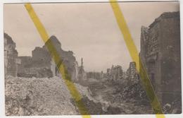 02 AISNE LA VILLE AUX BOIS LES PONTAVERT Canton De GUIGNICOURT  CARTE PHOTO ALLEMANDE MILITARIA 1914/1918 WW1 WK1 - Autres Communes