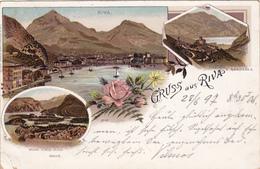 Riva - Oesterreich-Italien-Litho 1896 - Non Classés
