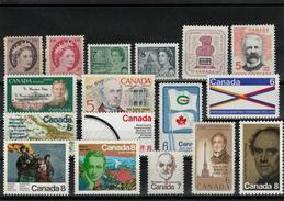 Canada Small Lot Of Stamps MNH (**) - Canada