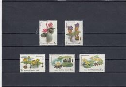 Russie - Fleurs Diverses - Neufs** -  Année 1984 - Y.T. N° 5095/5099 - Ungebraucht