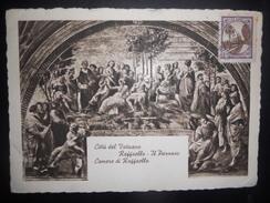 Vatican Carte De 1945 Pour Toulon - Lettres & Documents