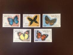 Laos 1993 Butterflies MNH - Butterflies
