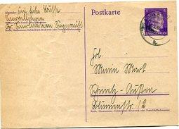 VR 42 Sarre Entier Postal   Saarlautern Du 4.1.42 - Lettres & Documents