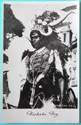 CPSM BEIRA MOZAMBIQUE Ricksha Boy Tireur De Pousse Pousse Indien - Mozambique