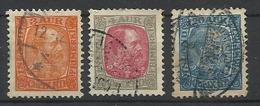 ISLANDE N° 34 35 Et 40 Oblitérés 1902 - 1873-1918 Deense Afhankelijkheid