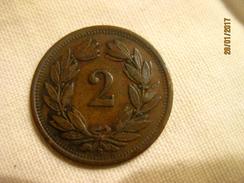 Suisse: 2 Centimes 1925 - Suisse