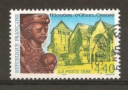 1997 - N°3128 Moutier D'Ahun - Gebraucht
