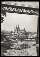 [018] Kaaden - Kadaň, Eisenbahn-Brücke, ~1950, Aufstieg-Verlag (München) - Boehmen Und Maehren