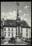[018] Nikolsburg - Mikulov, Dreifaltigkeitssäule, ~1950, Aufstieg-Verlag (München) - Boehmen Und Maehren