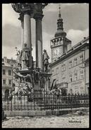 [018] Nikolsburg - Mikulov, Pestsäule, ~1950, Aufstieg-Verlag (München) - Boehmen Und Maehren