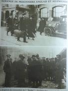 Militaria W1 , Echange Prisonniers Anglais Et Allemands , L'arrivée Commandant De L'Emden , Formalités Gare Venloo 1918 - Historical Documents